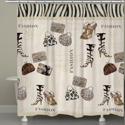 Fashion Shower Curtain Independent Fabric S-C