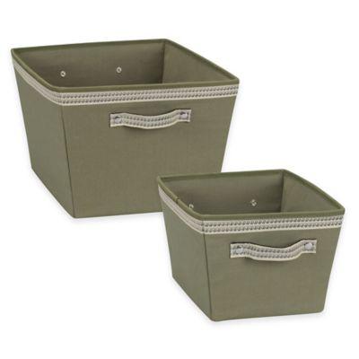 Green Storage Bins
