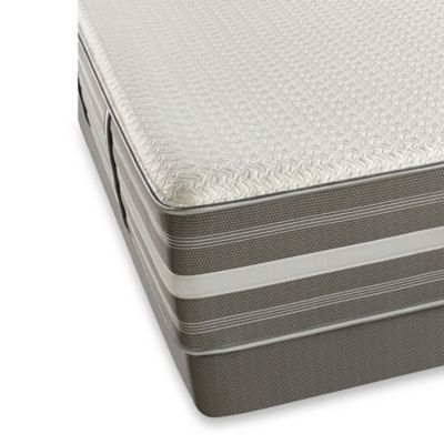 Beautyrest® Hybrid Sibel Luxury Firm Low Profile Queen Mattress Set