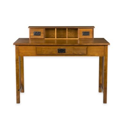 Southern Enterprises Francisco Desk in Oak