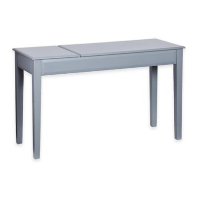 Southern Enterprises Holly and Martin Uphove Desk in Grey