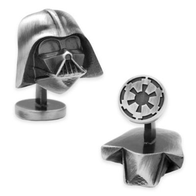 Star Wars™ Silver-Plated 3D Darth Vader Cufflinks