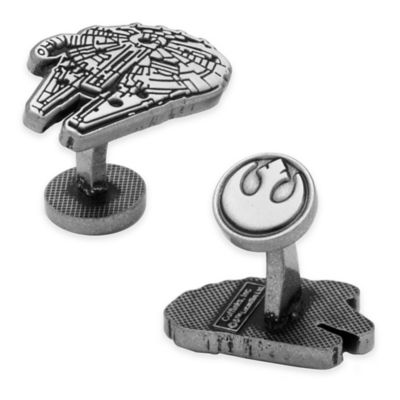 Silver Etched Cufflinks
