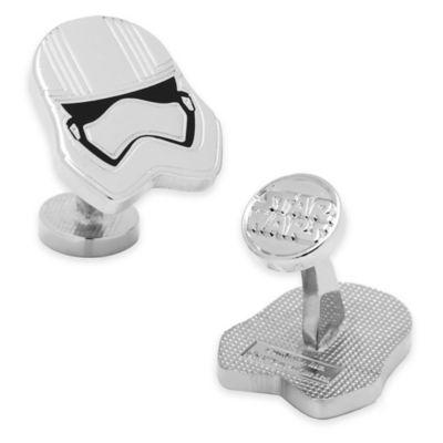 Star Wars™ Silver-Plated Captain Phasma Cufflinks
