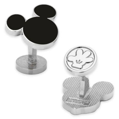 Disney® Enamel Mickey Mouse Silhouette Cufflinks