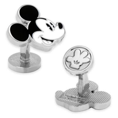 Disney® Enamel Vintage Mickey Mouse Cufflinks