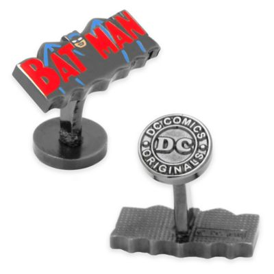 Silver-Plated Vintage Batman 1940 Cufflinks