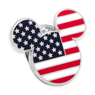 Disney® Stars and Stripes Mickey Mouse Lapel Pin