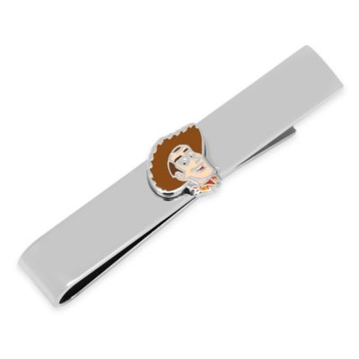 Disney® Silver-Plated and Enamel Woody Tie Bar