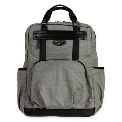 TWELVElittle Unisex Courage Backpack Diaper Bag in Grey