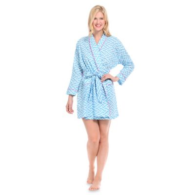 Small Molly Robe in Blue