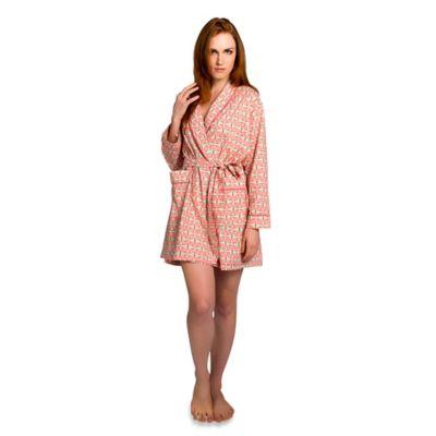 Medium Alice Robe in Coral Pink