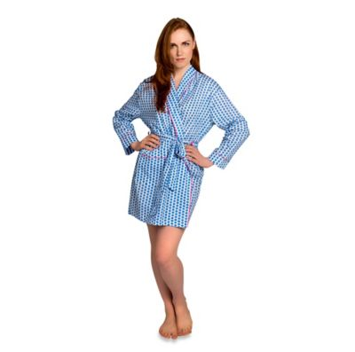Small Maisie Robe in Blue