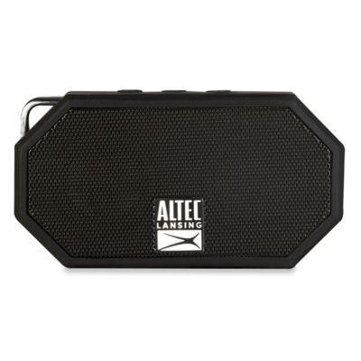 Mini H20 Waterproof Bluetooth® Wireless Speaker in Black