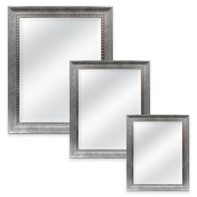 Harrison 21.5-Inch x 25.5-Inch Rectangular Mirror in Silver