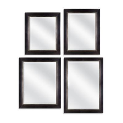 Harrison 21.5-Inch x 25.5-Inch Rectangular Mirror in Dark Walnut