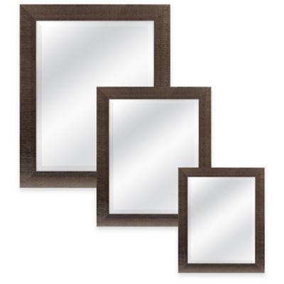 Rocco 21.5-Inch x 25.5-Inch Rectangular Mirror in Bronze