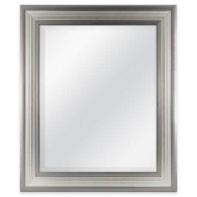 Mason 21-Inch x 25-Inch Rectangular Mirror in Silver