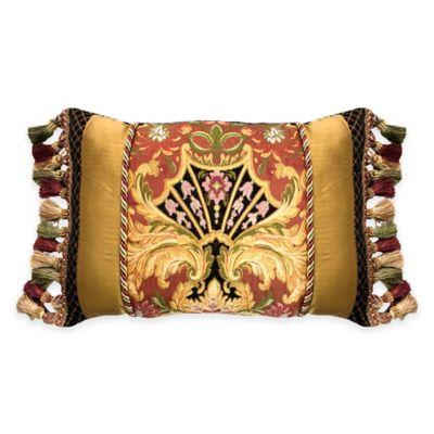 Austin Horn Classics Ashley Oblong Throw Pillow in Gold