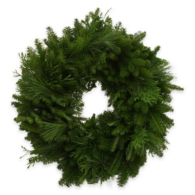 24-Inch Fresh Maine Balsam Wreath
