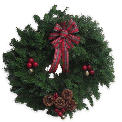 20-Inch Fresh Maine Balsam Highland Wreath