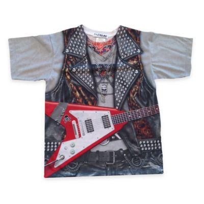 Faux Real Size 3T Photorealistic Rockstar Short Sleeve T-Shirt