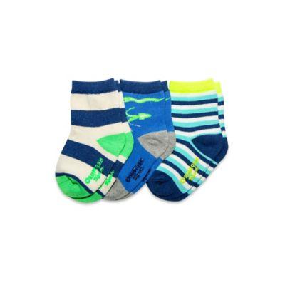 carter's® Size 3-12M 3-Pack Glow in the Dark Socks