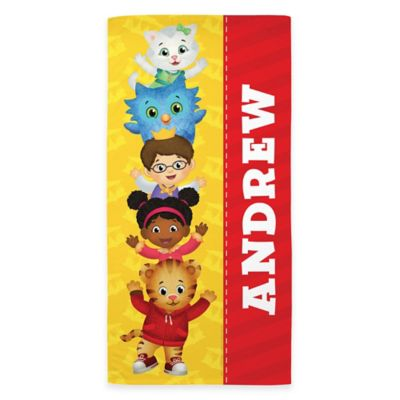 Daniel Tiger's Neighborhood Beach Towel