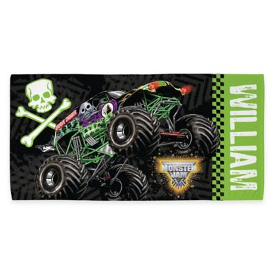 Monster Jam® Grave Digger® Beach Towel