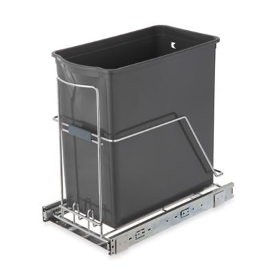 Steel Plastic Kitchen Trash Cans