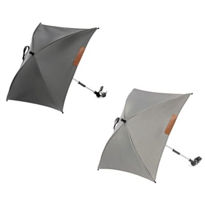 Mutsy Evo Urban Nomad Stroller Umbrella in Light Grey