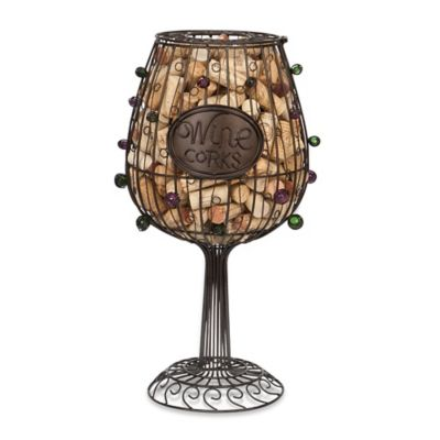 Cork Cage™ Wine Glass Cork Collector