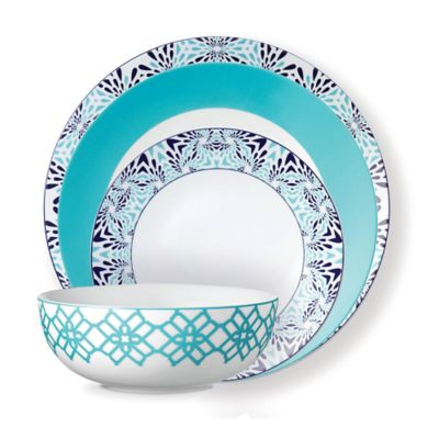 B by Brandie™ Boca Raton 4-Piece Collection in Turquoise/Navy