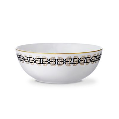 B by Brandie™ Grande Sibyl Small Bowl in Black/Gold