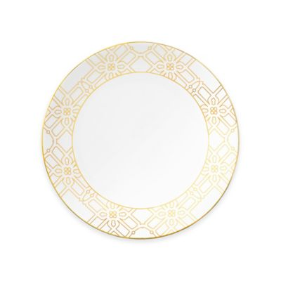 B by Brandie™ Grande Astor Dinner Plate in Gold