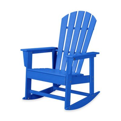 POLYWOOD® South Beach Rocker in Pacific Blue