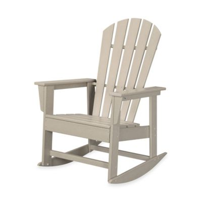 POLYWOOD® South Beach Rocker in Sand