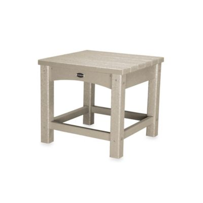 POLYWOOD® Club Side Table in Sand