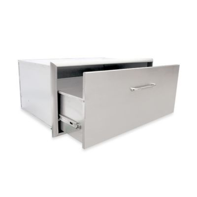 Saber® 24-Inch Single Storage Drawer for Outdoor Grills