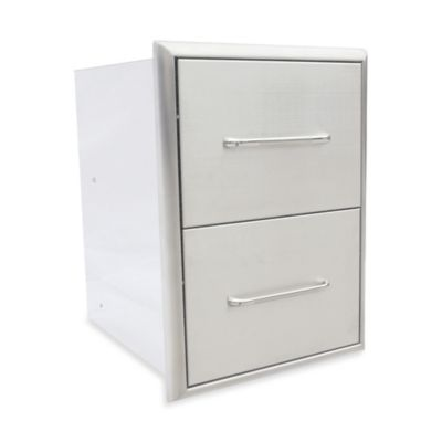 Saber® 2-Drawer Cabinet for Outdoor Grills
