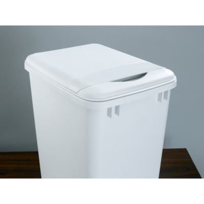 White Container Lid