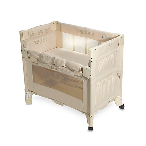 Arm 39 S Reach Mini Co Sleeper Bedside Sleeper In Natural