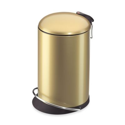 Gold Trash Cans