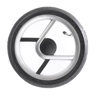 Mutsy Igo StrollerAir-Filled Rear Wheel Set in Black/Silver
