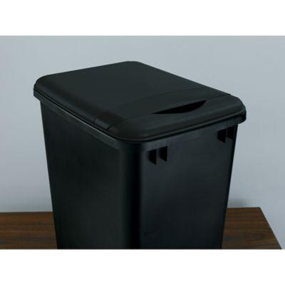 Rev-A-Shelf 35 qt. Lid Only in Black