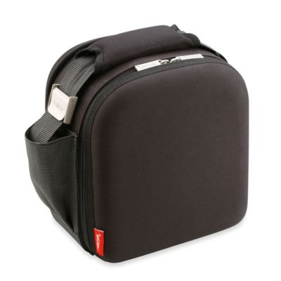 Nomad Soft 3-Piece Insulated Lunch Bag with Airtight Containers in Black