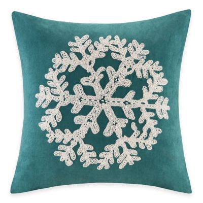 Teal Decorative Pillow Cover
