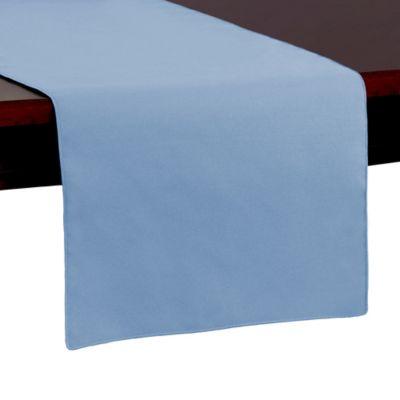 Spun Polyester 54-Inch Table Runner in Light Blue