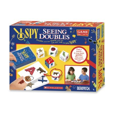 I Spy Seeing Doubles Game