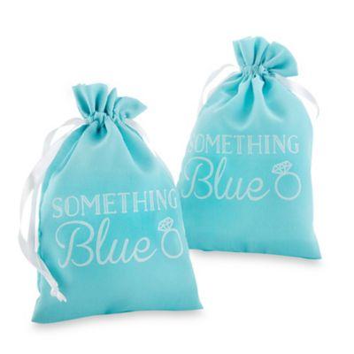 Blue Favor Bags
